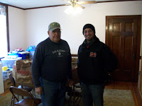 KCII's General Manager Joe Nichols delivering food at the Ainsworth Community Church