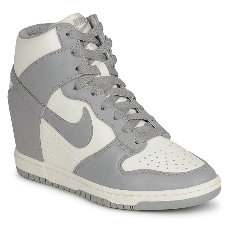 Nike, sneakers, Nike Dunk Sky High, Sneakers with wedge, Wedge, Shoes, Shoes Advice, Shopping, Nike with wedge