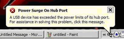PowerSurgeOnHubPort