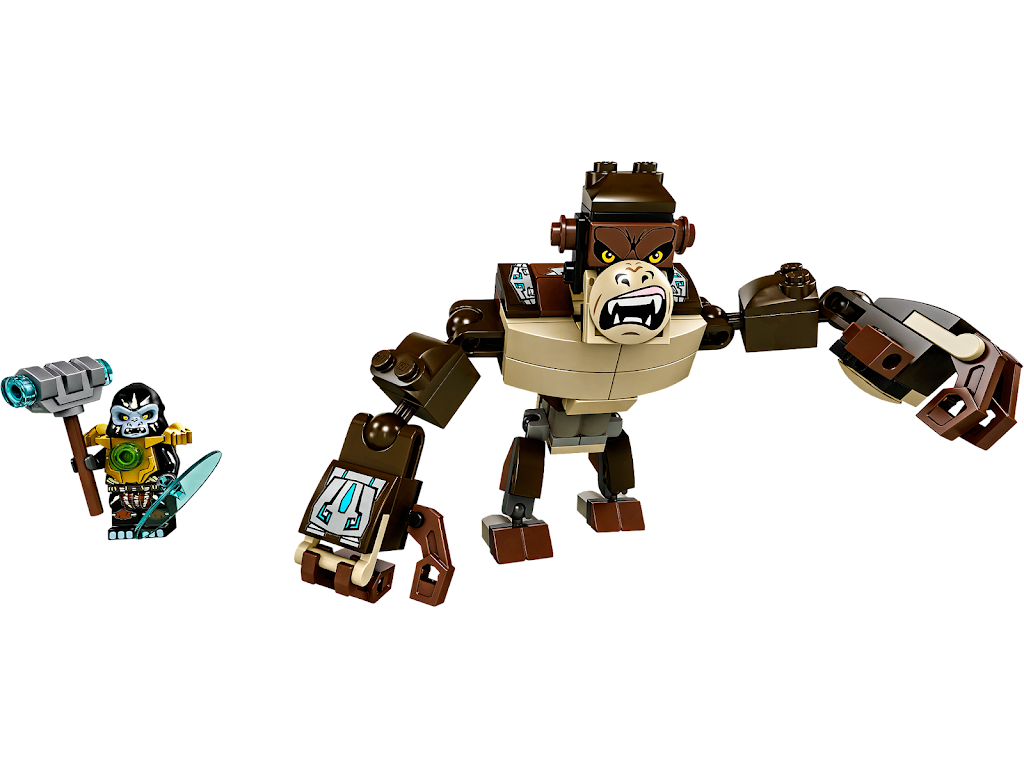 Bricker - Конструктор LEGO 70125 Легендарные Звери: Горилла ...