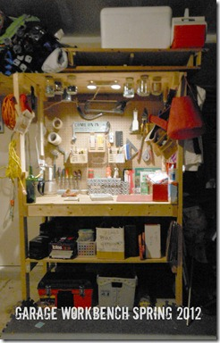 Garage Workbench Spring 2012