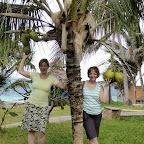 Angelika und Ulrike im Garden des The Palms © Foto: Outback Africa Erlebnisreisen