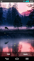 Screenshot of Fireflies Live wallpaper