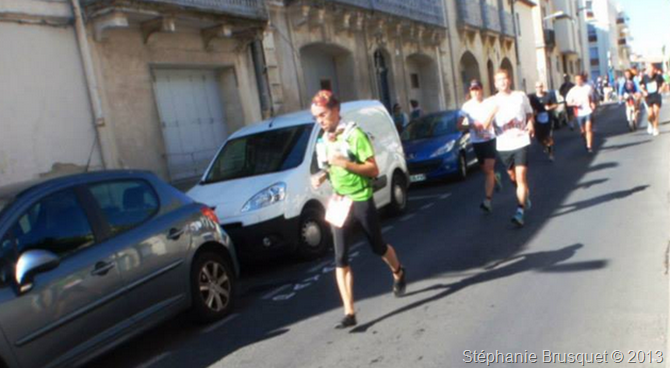 Five fingers aux marathon de Montpellier