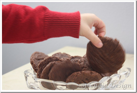 Nutella cookie 1