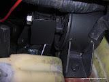 Motor mount installed