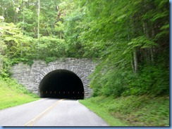 0510 North Carolina, Blue Ridge Parkway - Sherrill Cove Tunnel