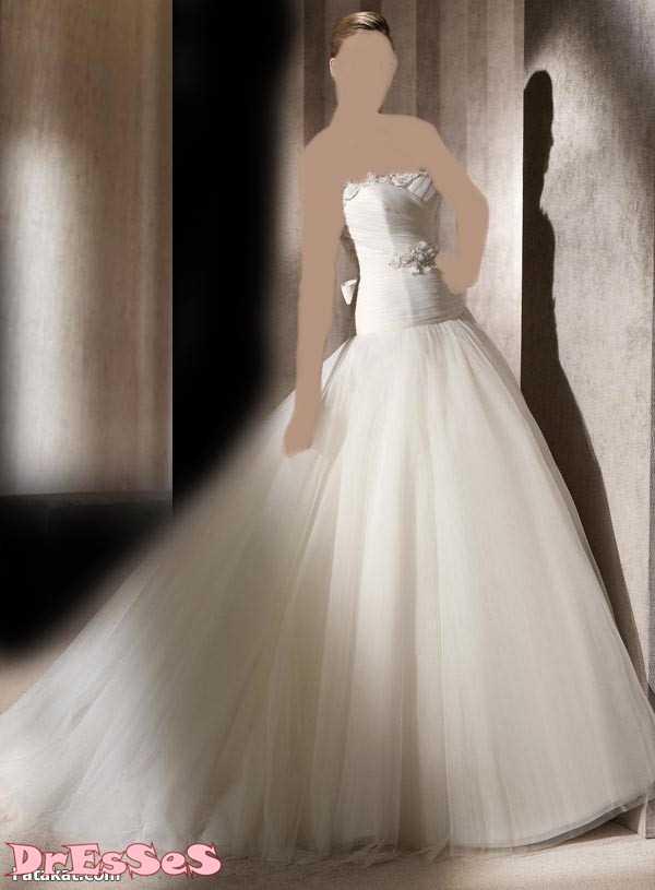 فساتين  زفاف خطيرة