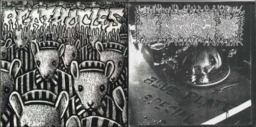 Agathocles_&_Krush_Split_7''_cover