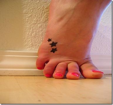 poze tatuaje fete - picior
