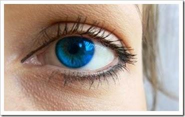 os seus olhos coloridos