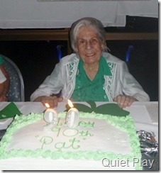 Nan's 90th birthday