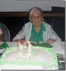 Nan's 90th birthday