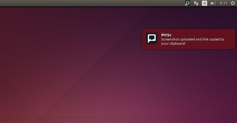 PrtSc in Ubuntu