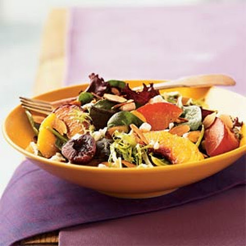 Mixed Baby Greens And Arugula With Blackberries And Pecans - 3 Pts ...