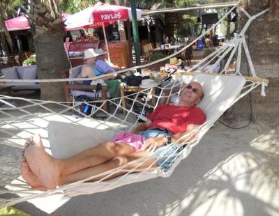 hammock at Bitez