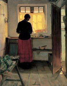 Anna_Ancher_Pigen_i_koekkenet_1883-86