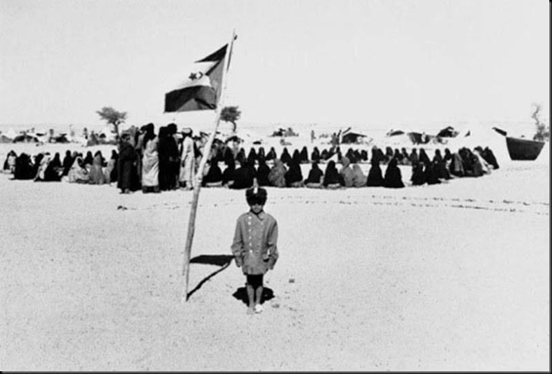 © Christine Spengler Mouvement nationaliste et indépendantiste Polisario