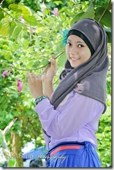 model hijab terbrau liana
