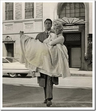 Rock Hudson and Doris Day