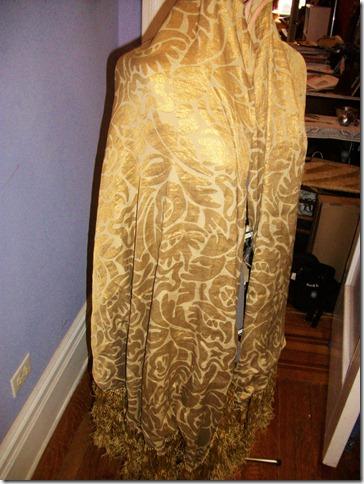 vivian shawl front