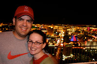 Jason and Kristy on the stratosphere