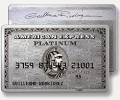 American Express Card Platinium