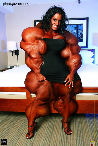 ... female muscle growth breast expansion female bodybuilder areaorion