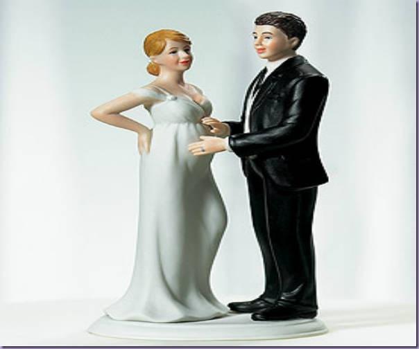 Noivinhos-Grávida-Bolo-Casamento