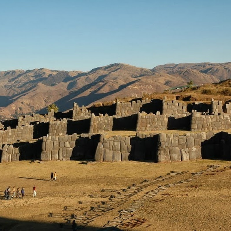 The Walls of Sacsayhuaman