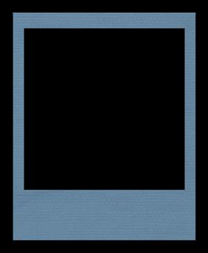 polaroidframe-blue