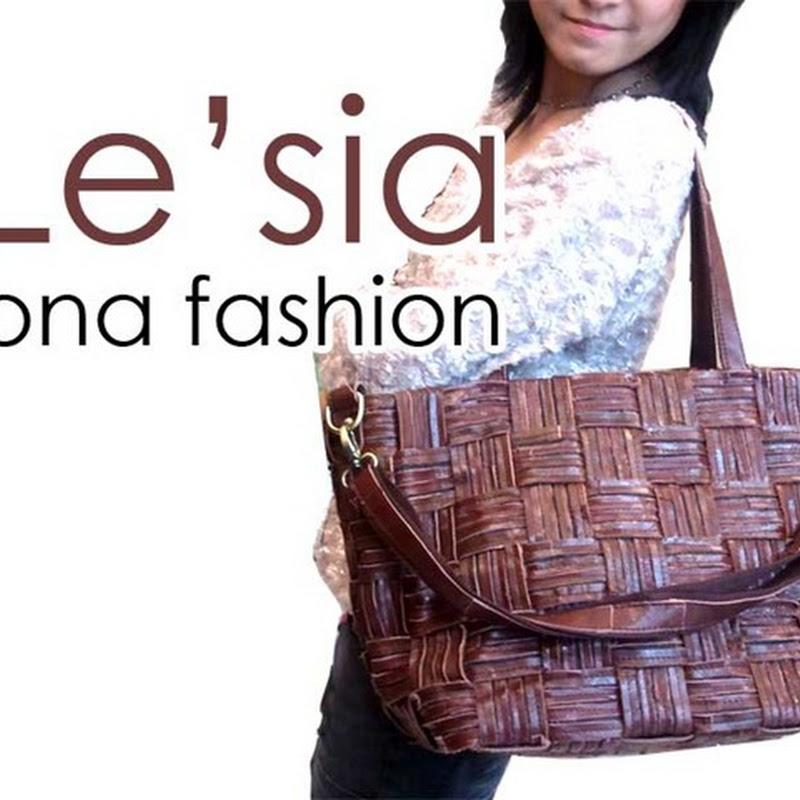 กระเป๋าหนังแท้ Le'Sia F089