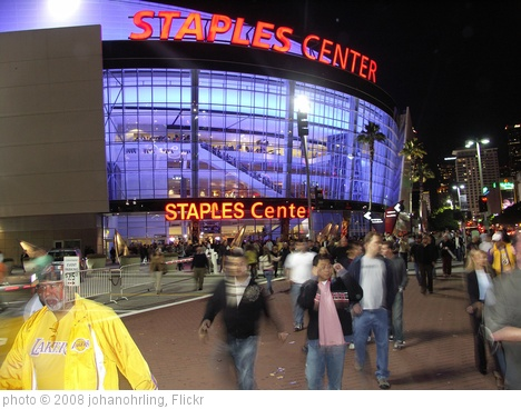 'Staples Center, L.A.' photo (c) 2008, johanohrling - license: http://creativecommons.org/licenses/by/2.0/