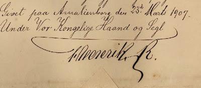 Signature-Frederik Viii