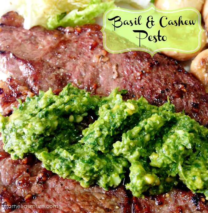 Basil & Cashew Pesto 2