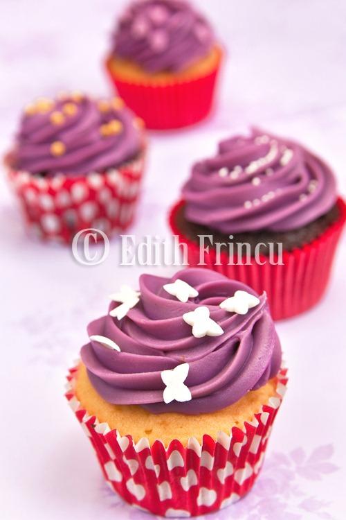 purple cupcakes 1