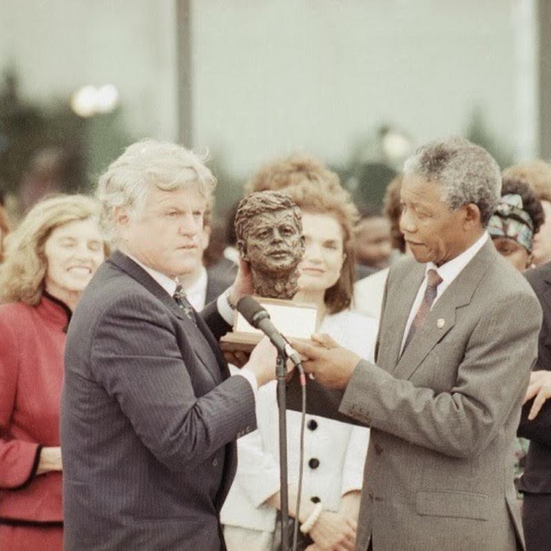 Os encontros de Nelson Mandela com celebridades e líderes mundiais