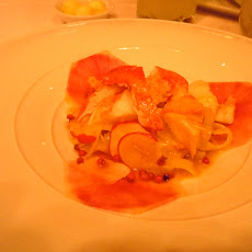 Citrus Poached Orange Roughy