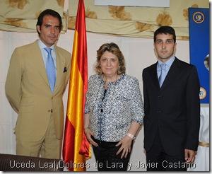 Uceda Leal,Dolores de Lara y Javier Castaño