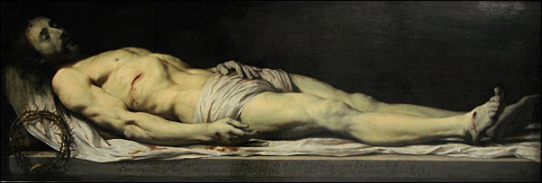 Philippe de Champaigne, Le Christ mort couché dans son lit