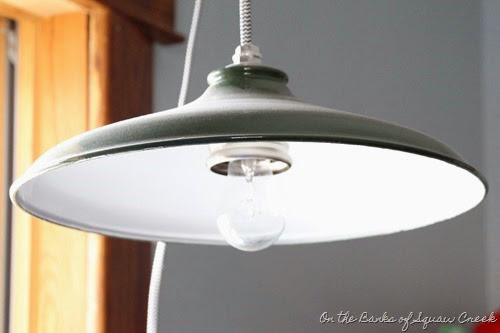 antique barn light