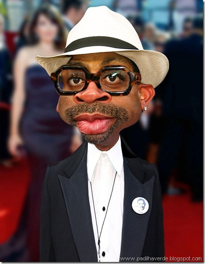 Caricatura Spike Lee