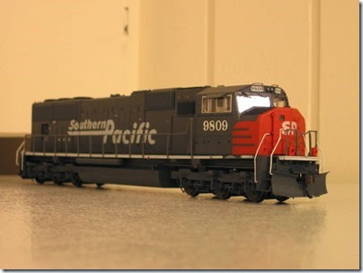 IMG_0726 Athearn Genesis SD70M Southern Pacific #9809