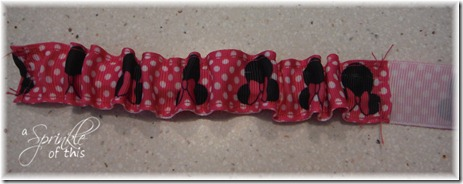 Wrist Leash Elastic Pocket Part 2 {A Sprinkle of This . . . . A Dash of That}