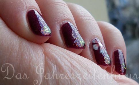 kleancolor chunky holo fuchsia - one stroke4