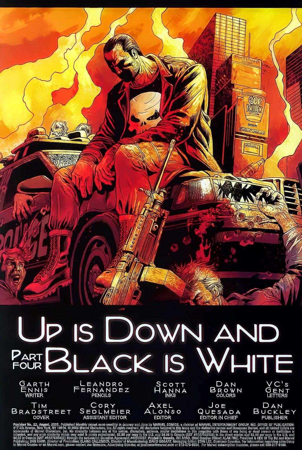 The Punisher: Trên là Dưới & Trắng là Đen chap 4 - Trang 5