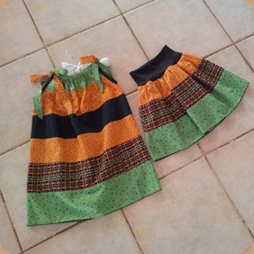 Repurposed skirt
