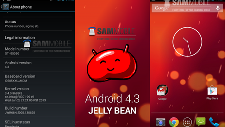 jellybean android 4.3
