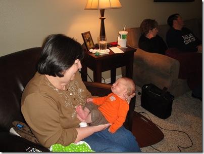 1.  Aunt Bari with Knox