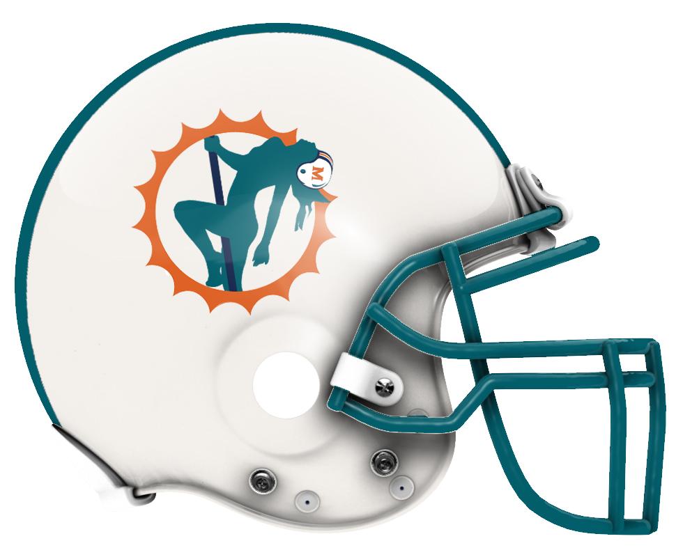 Football Helmet Logo Funny Fantasy Football Helmet